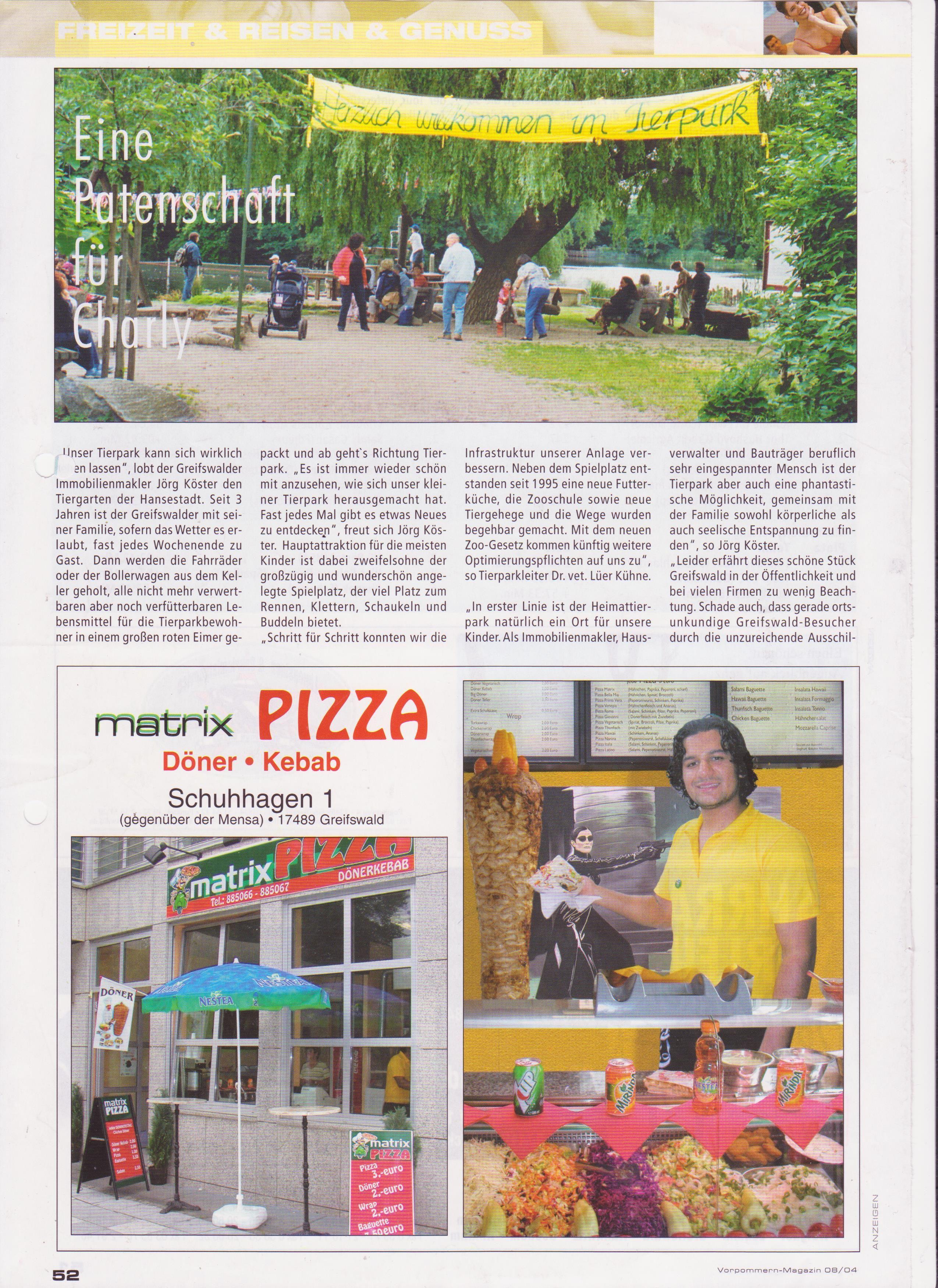 wir waren vor einiger Zeit im Tierpark,aber diese Seite ist aus einer alten Zeitschrift