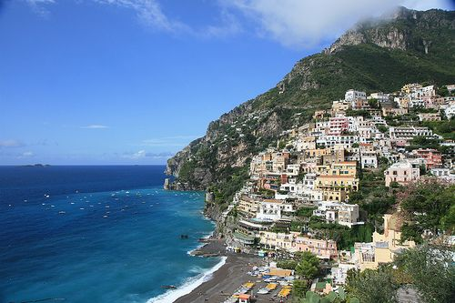 The Amalfi Coast in Italy is beautiful!