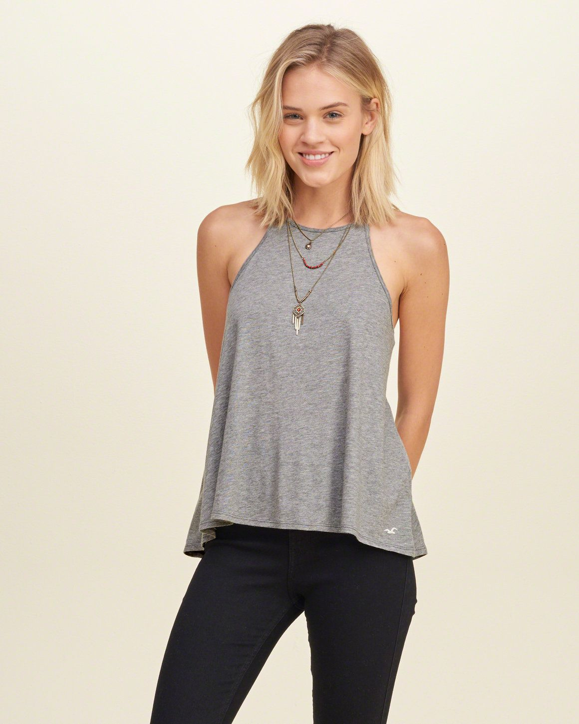 Girls T-Shirts & Tanks | Clearance | Hollister Co.