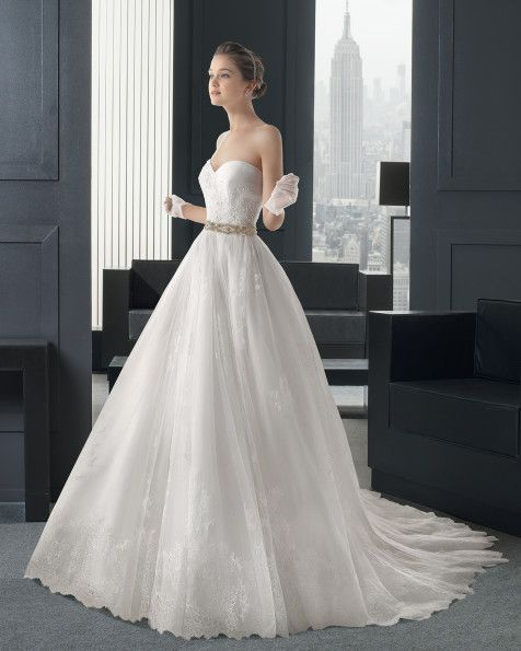 Magno vestido de novia two Rosa Clara