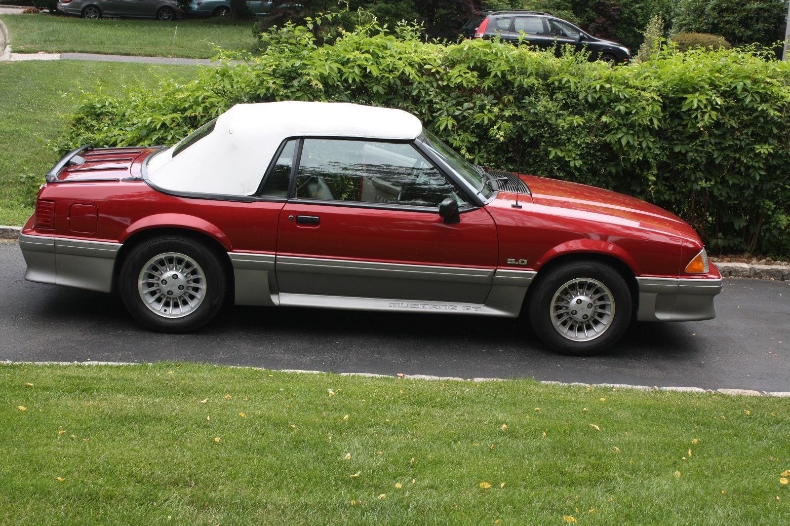 Ebay 1990 ford mustang 1990 ford mustang 5 0 convertible fox body 14k original miles clear title fordmustang ford