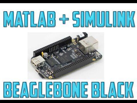 Matlab Simulink Y Beaglebone Black Beaglebone Black Black