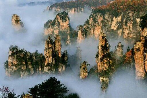 Tianzi Mountain China