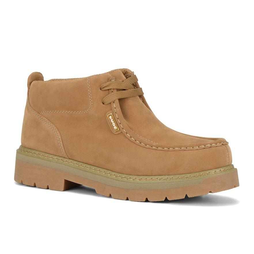 Lugz Strutt LX Men's Moc-Toe Ankle Boots, Size: 13, Yellow