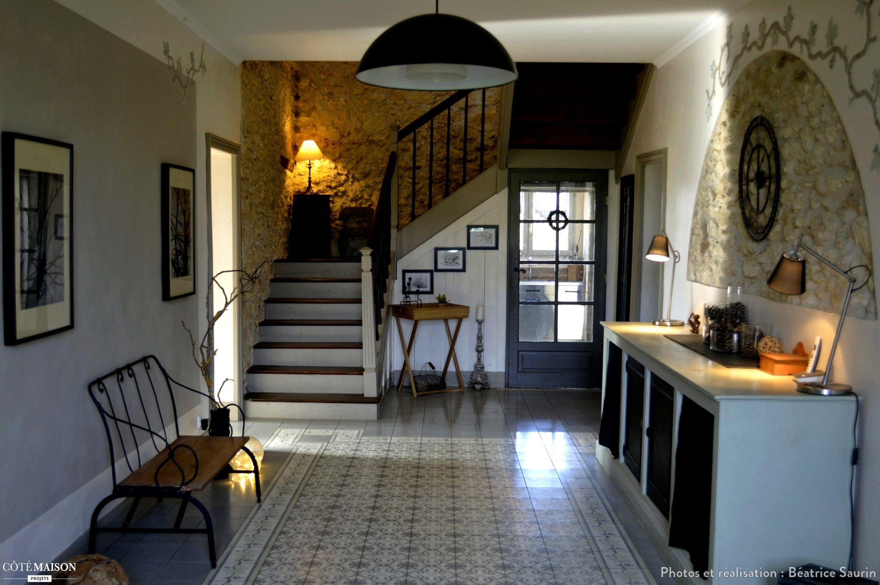 Décoration d\'une entrée de maison de maître, Béatrice Saurin - Côté ...