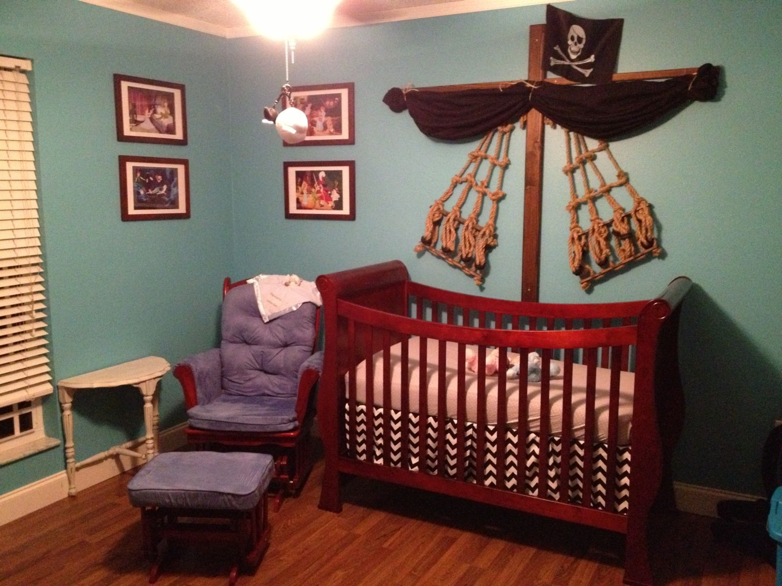 Our Very Own Pirate Ship Crib Toddler Rooms Pirate Nursery Baby Cribs