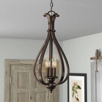 Photo of Girard 3-Light Lantern Pendant