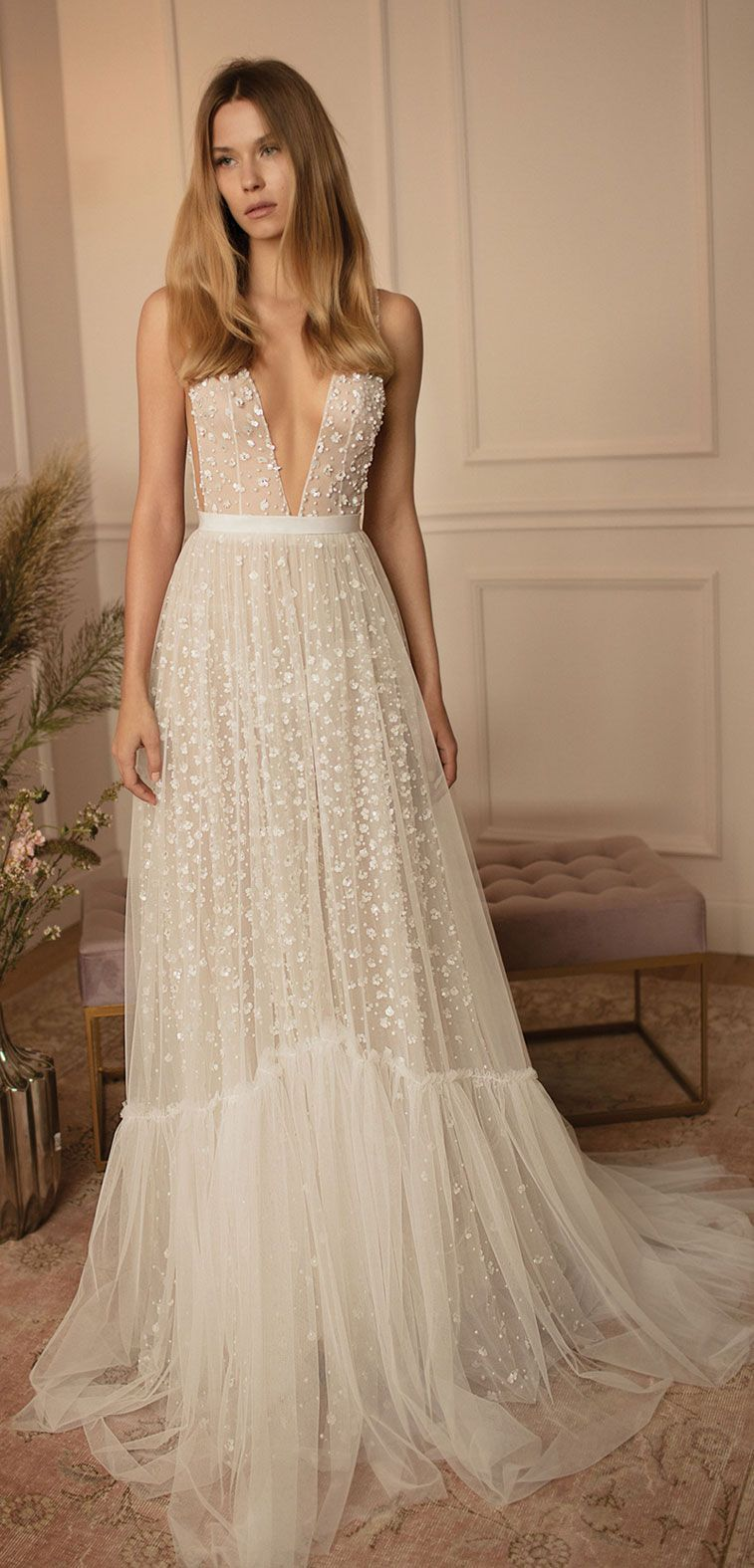 Beautiful Dreamy boho Wedding Dresses