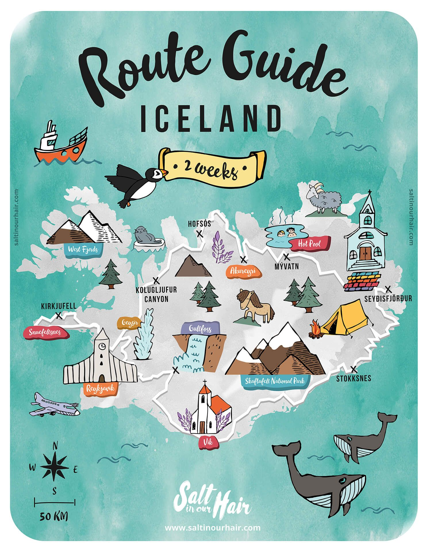 Iceland Route Guide Ultimate 2 Week Iceland Travel Itinerary Iceland Travel Itinerary Iceland Travel Iceland Travel Tips