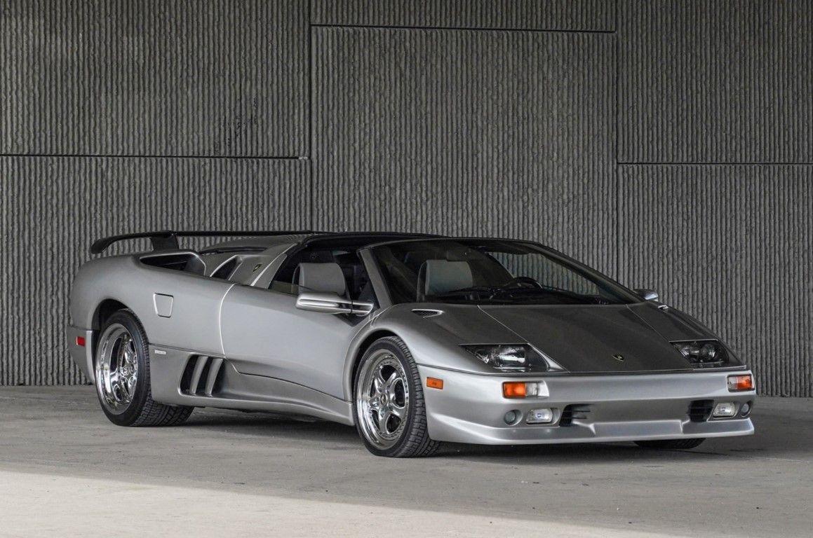 1999 Lamborghini Diablo Vt Millennium Roadster 7 Is One Rare Bull