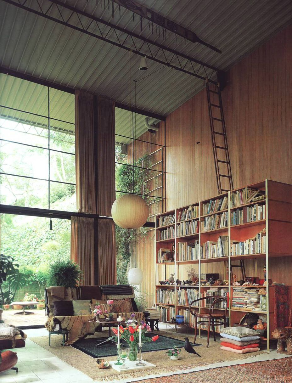 manoftheworldmagazine the eames house designed by. Black Bedroom Furniture Sets. Home Design Ideas