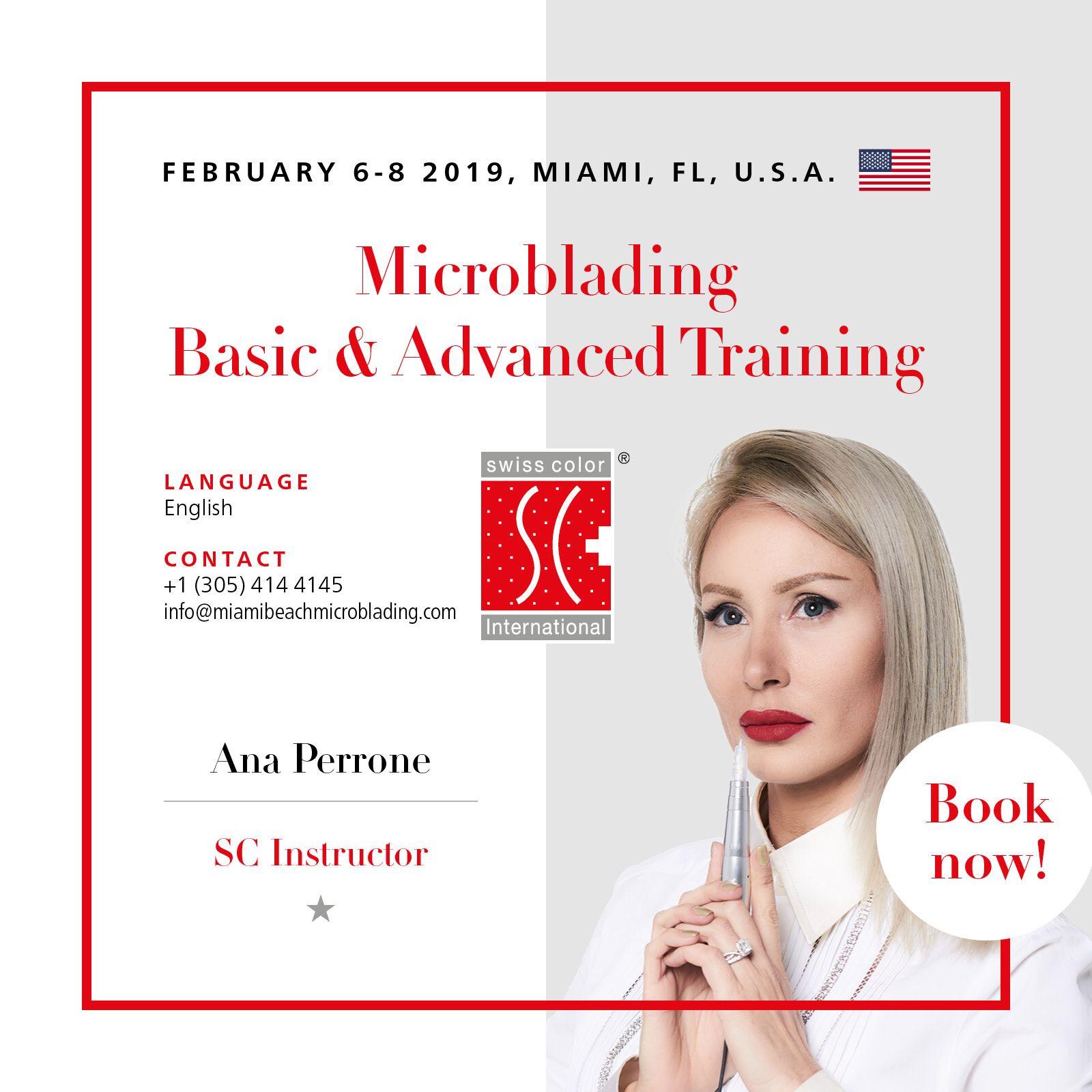Microblading Class in Miami Microblading, Advanced