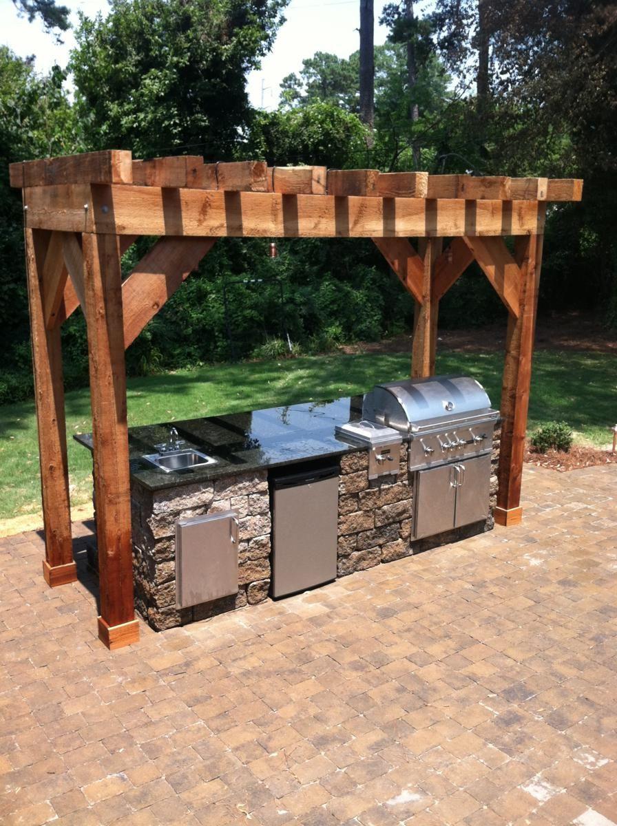 Outdoor Kitchens Pergola Google Search Backyard Pergola Backyard Pergola