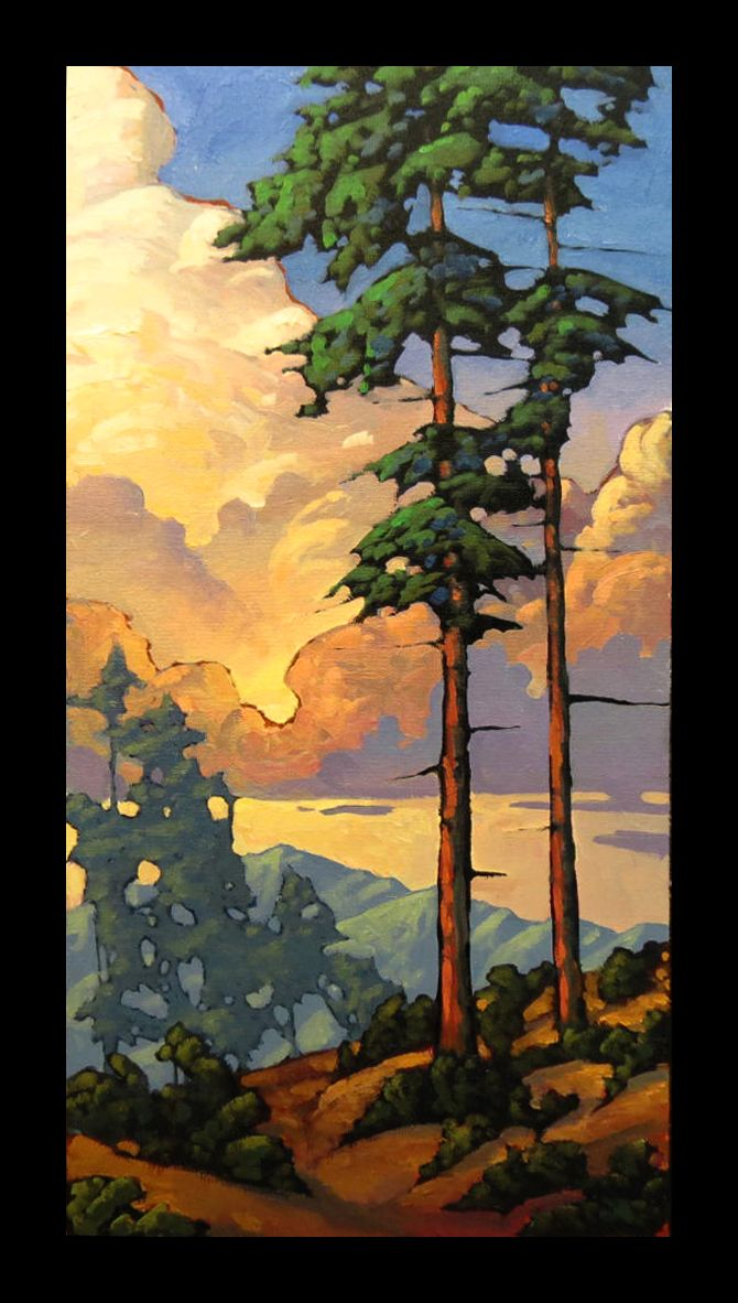 Image result for horizontal landscape paintings