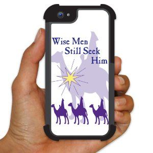 "Amazon.com: Religious Christmas iPhone 5 BruteBoxTM Protective Case- ""Wise Men Still Seek Him"": Cell Phones & Accessories"