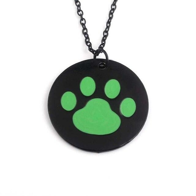 Photo of Anime Gold Fox Pendant Necklaces Black Cat Hanging Bell Charms Choker Women Girls Cosplay Jewelry Cartoon Fans Gift – Gold-color
