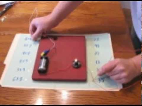 Stan Harrison: Homemade light, buzzer game perfect electronic ...