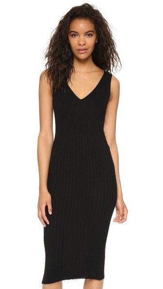 2f0788028cebd2 JAMES PERSE Long V Neck Sweater Dress.  jamesperse  cloth  dress ...