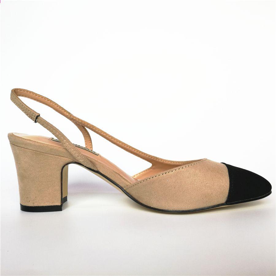 Wiosna 2017 Nowe Buty Damskie Kolor Pasujace Zamszowe Okragle Toe Kwadratowy Obcas Sandalki Damskie Klasyczne Kobiece Sandaly Koloru Bezow Heels Shoes Fashion