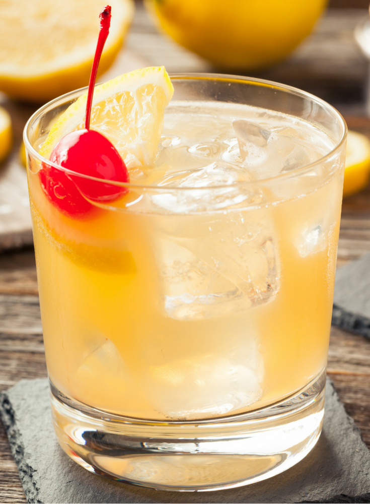 Is whiskey sour a manly drink