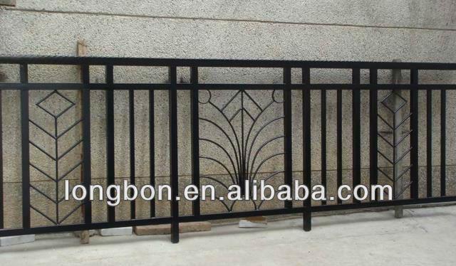 2014 Top Selling Modern Wrought Iron Fancy Balcony Railing Buy