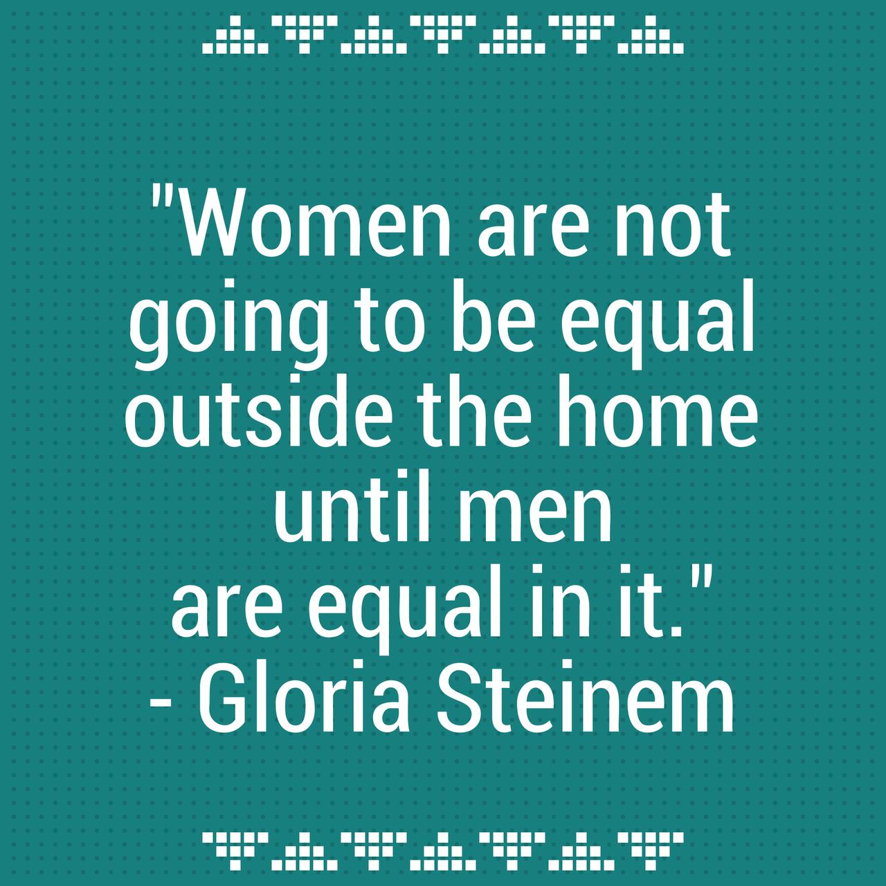 She Works: Her Money | Gloria steinem, Feminism and Woman