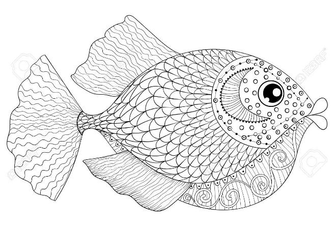 40+ Malvorlage Fisch A4 in 2020 Muster malvorlagen