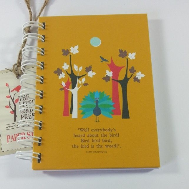 A Walk in the Woods A6 Notebook £5.00