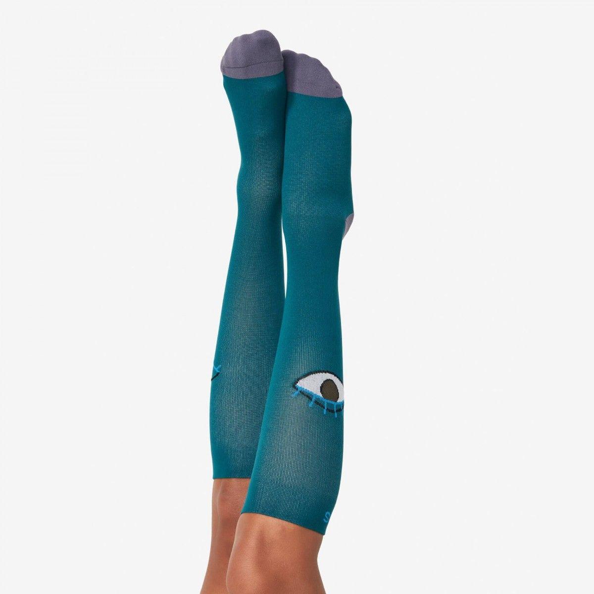 Womens Compression Socks Eyes Womens compression socks