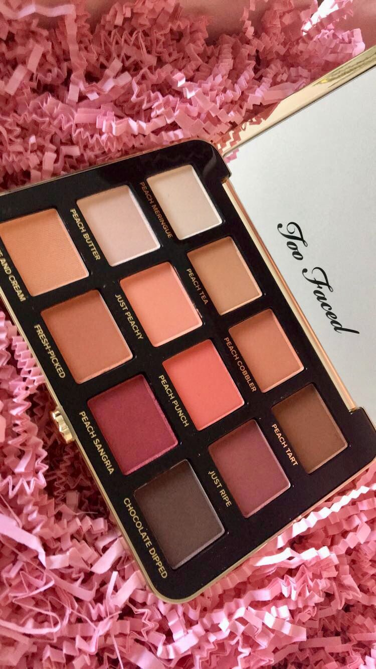 Too faced just peachy mattes palette toninikolebeauty