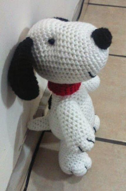 Perro Snoopy Amigurumi - Patrón Gratis en Español aquí: http ...