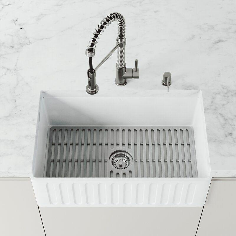 Vigo 27 X 14 75 Sink Grid Farmhouse Sink Kitchen Stone Farmhouse Sink Sink Sink grids for farmhouse sinks