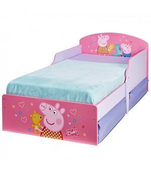 a240b4222 Cama Peppa Pig infantil con cajones. 516PED. Colchón y almohada ...