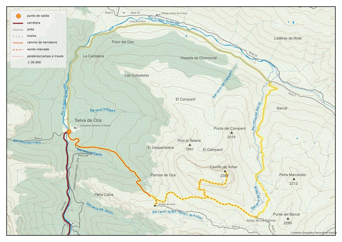 Vuelta Circular Con Ascensión Al Castillo De Acher Rutas Por El Valle De Hecho En 2020 Valle De Hecho Rutas Castillos