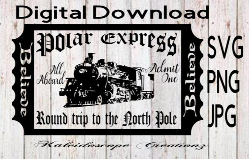 Pin On Polar Express Tickets