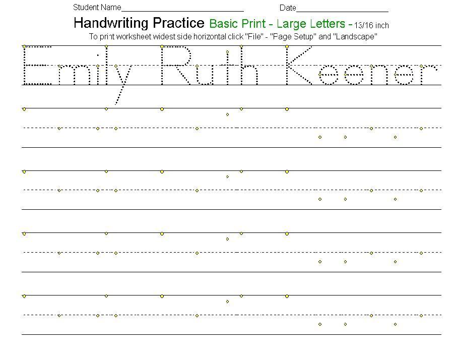 Calm Down Handwriting Worksheets Handwriting Worksheets Handwriting Practice Worksheets Cursive Handwriting Practice Dnealian handwriting worksheet