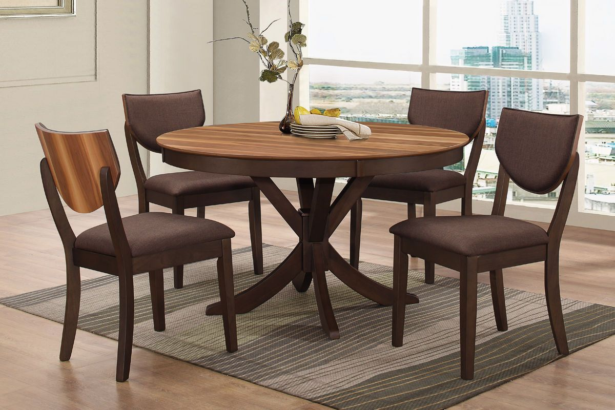 Round Dining Table For 4 Turner Round Dining Table Woshype