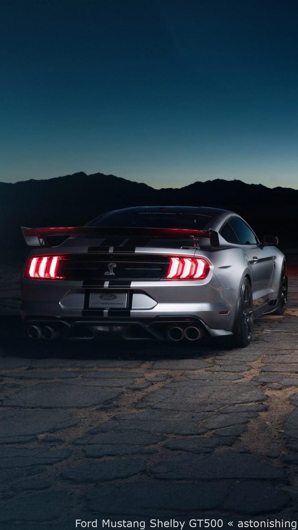 Ford Mustang Shelby Gt500 Astonishing In 2020 Ford Mustang