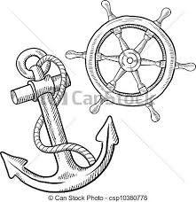 Dessins de ancre marine recherche google parchment pinterest tattoo ancre maquillage - Dessin ancre bateau ...