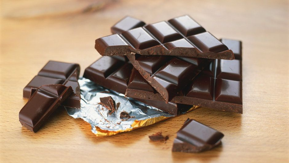 Eating Dark Chocolate Every Day Could Help You Be a Better Athlete #athletefood