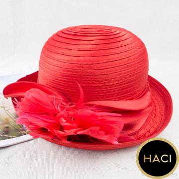 #Haci Dress Hat Flower Decoration Fancy Travel #hatflower