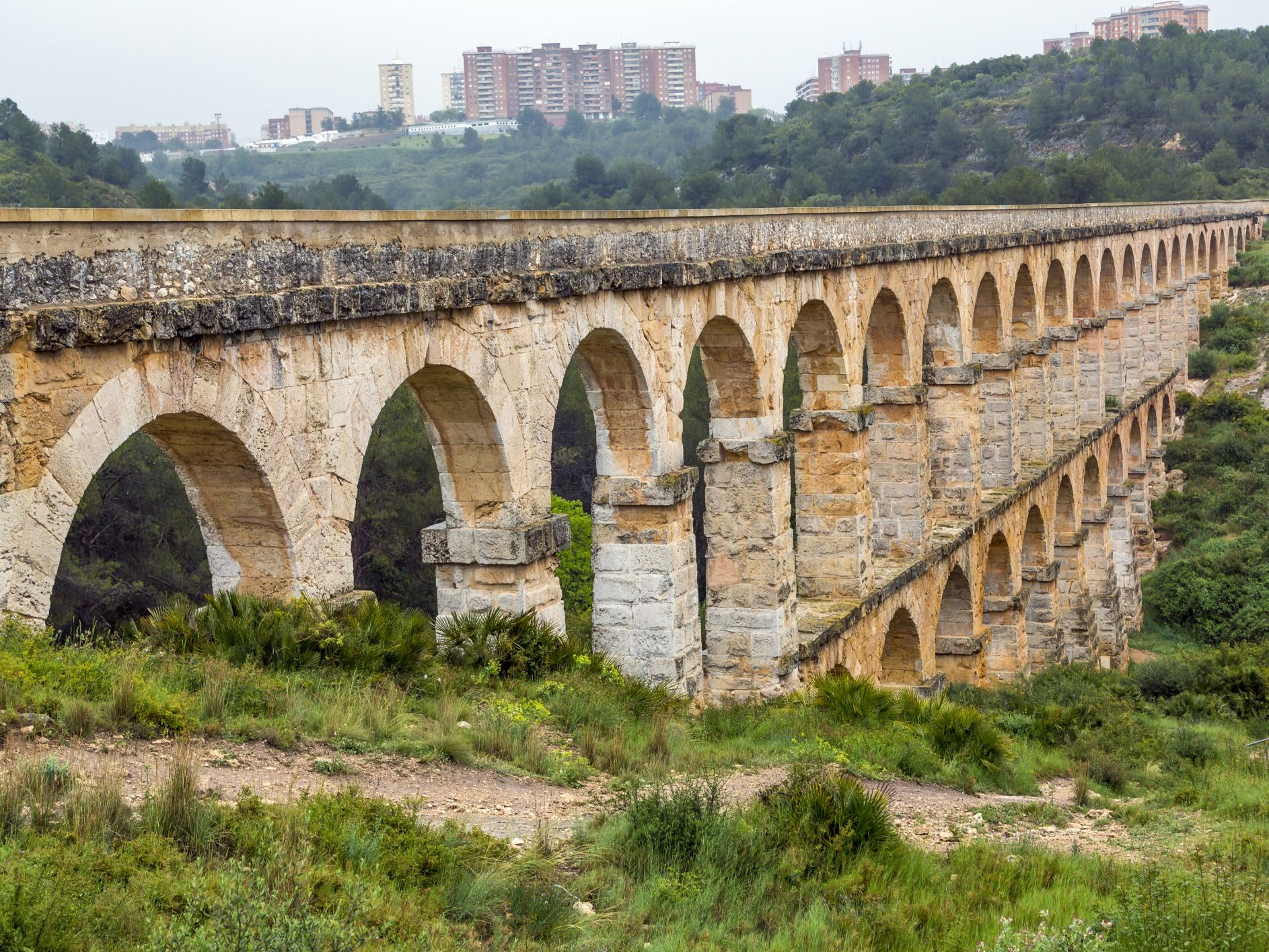 The Roman Aqueducts Italy