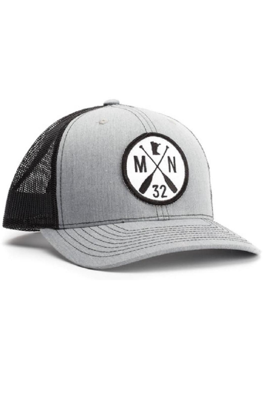 6bb5a45a24a Adjustable mesh back trucker cap with Minnesota 32 Paddle logo. The Chris  Cap by Sota Clothing Co.. Accessories - Hats Minneapolis, Minnesota