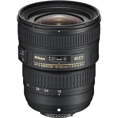 Nikon Nikkor 18 35mm F 3 5 4 5 Fx Af S Ed G Lens Nikon Lenses Nikon Dslr Camera Dslr Camera