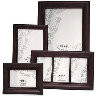 Fetco Home Decor Wood Photo Frames In Espresso Wood Photo Frame
