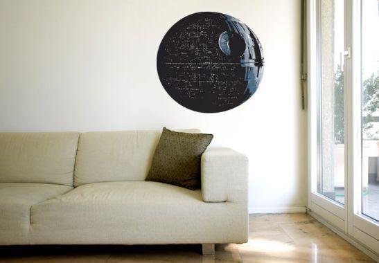 Wandtattoo Death Star Star Wars Etc Pinterest Kinderzimmer