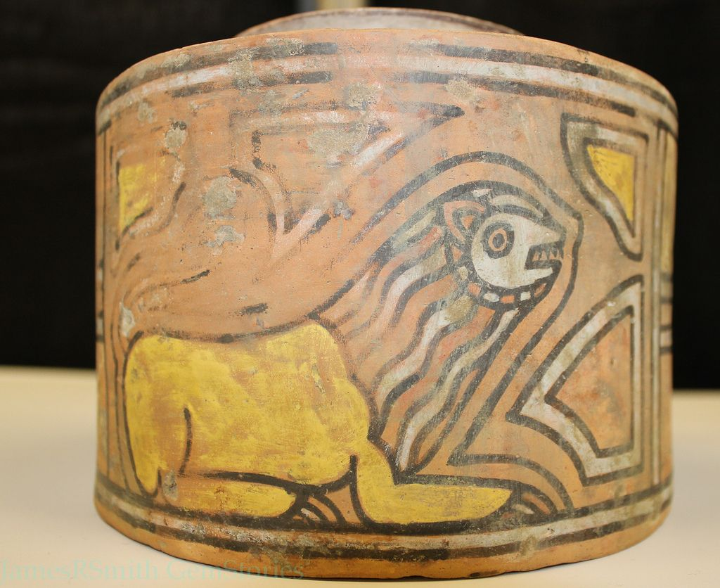 Indus Valley Lion Vessel With Images