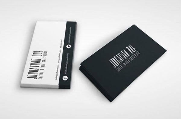 Simples 2 De Impressao De Cartoes De Cartoes De Visita 600gsm Papel A4 Papel De Impressa Media Business Cards Social Media Business Cards Social Media Business