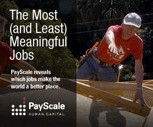 Most and Least Meaningful Jobs - Meaning of Job Meaning