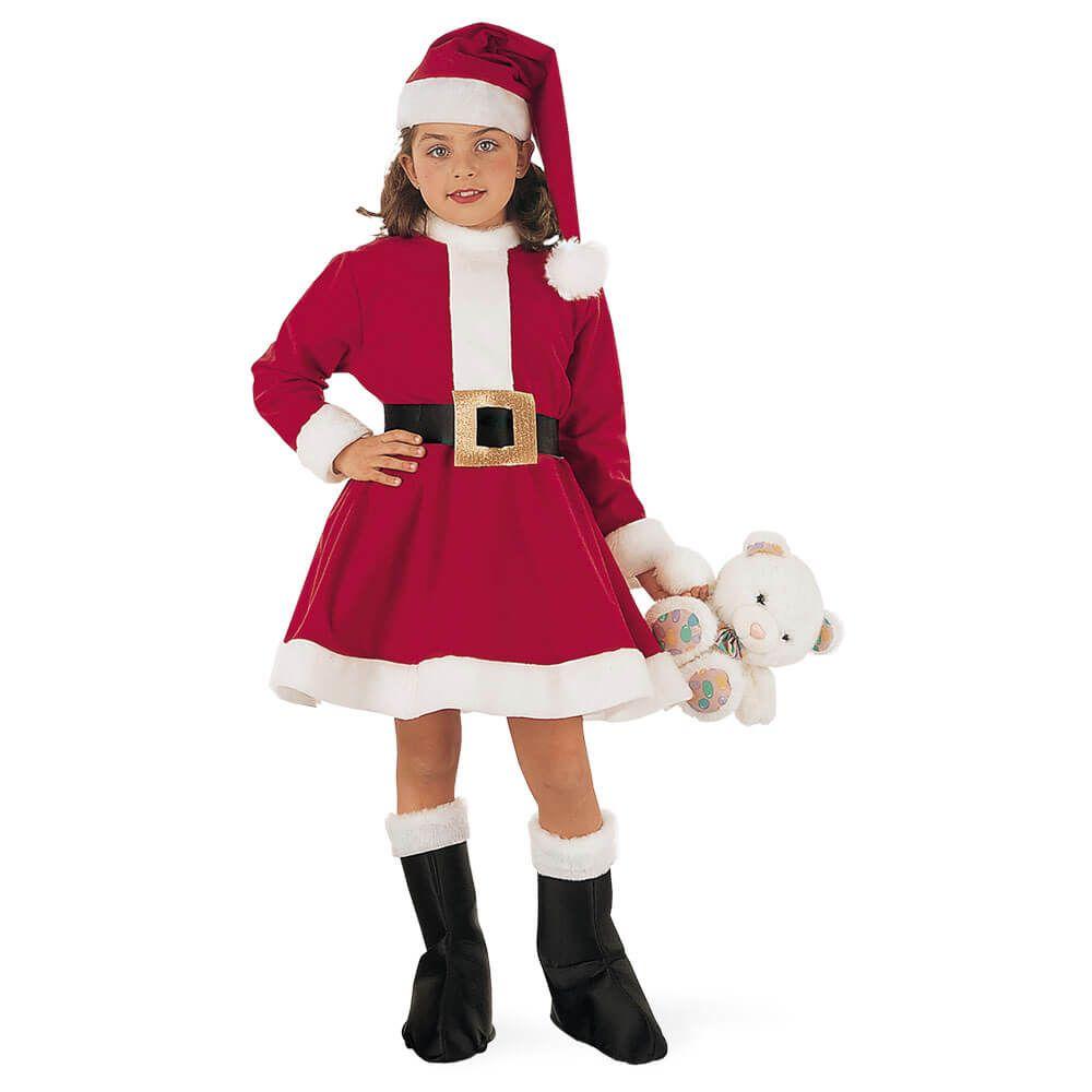 Disfraz de mam noel laponia para ni a disfraces de pap - Disfraces navidenos para ninas ...